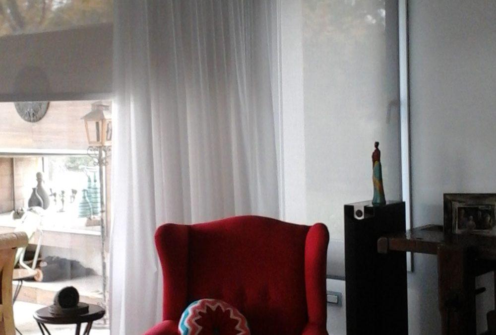 Cortina De Gasa Mas Roler Suns Screen